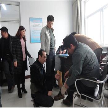 运城市残联为夏县残疾人开展假肢适配筛查